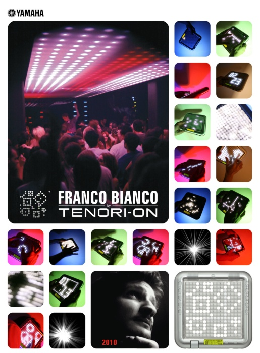Official website of Franco Bianco. Here you will find his music, biography, links, press kit, downloads, videos, booking contact, discography and all infos about him. During this 2010 Franco Bianco will be supported by the Tenori-on of Yamaha.